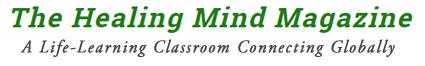 The Healing Mind Online Magazine Logo