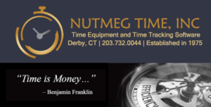 Visit Nutmeg Time for all your Time Clock Needs